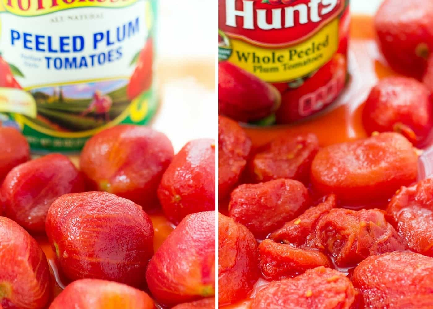 Tuttorosso Tomato Challenge: the quality difference between these two cans were astonishing!