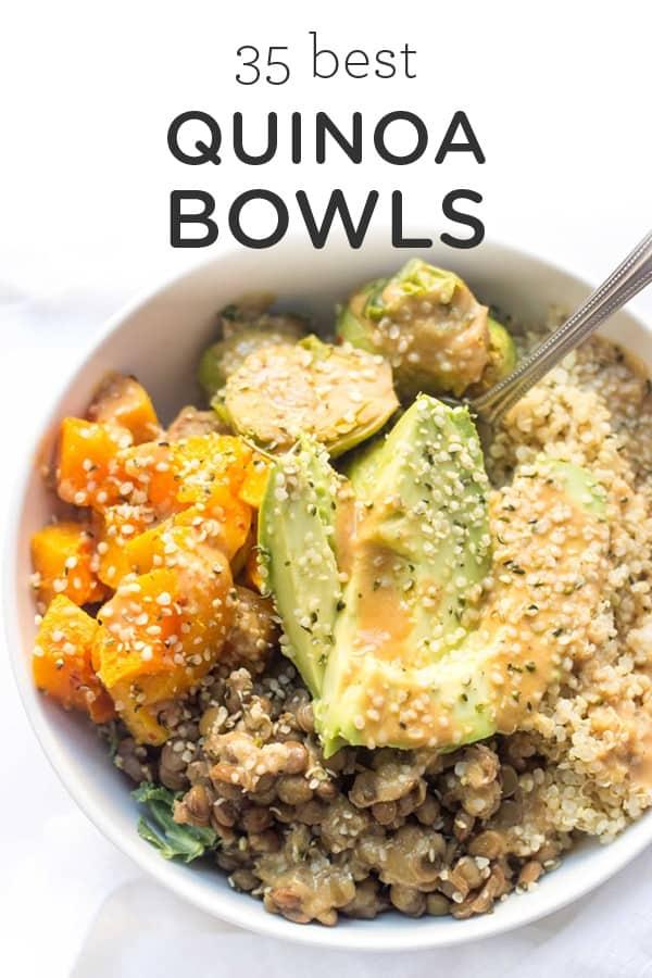 35 BEST quinoa bowls