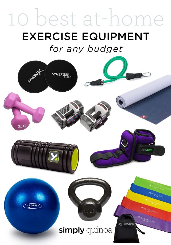 10 BEST at home exercise equipment for small spaces
