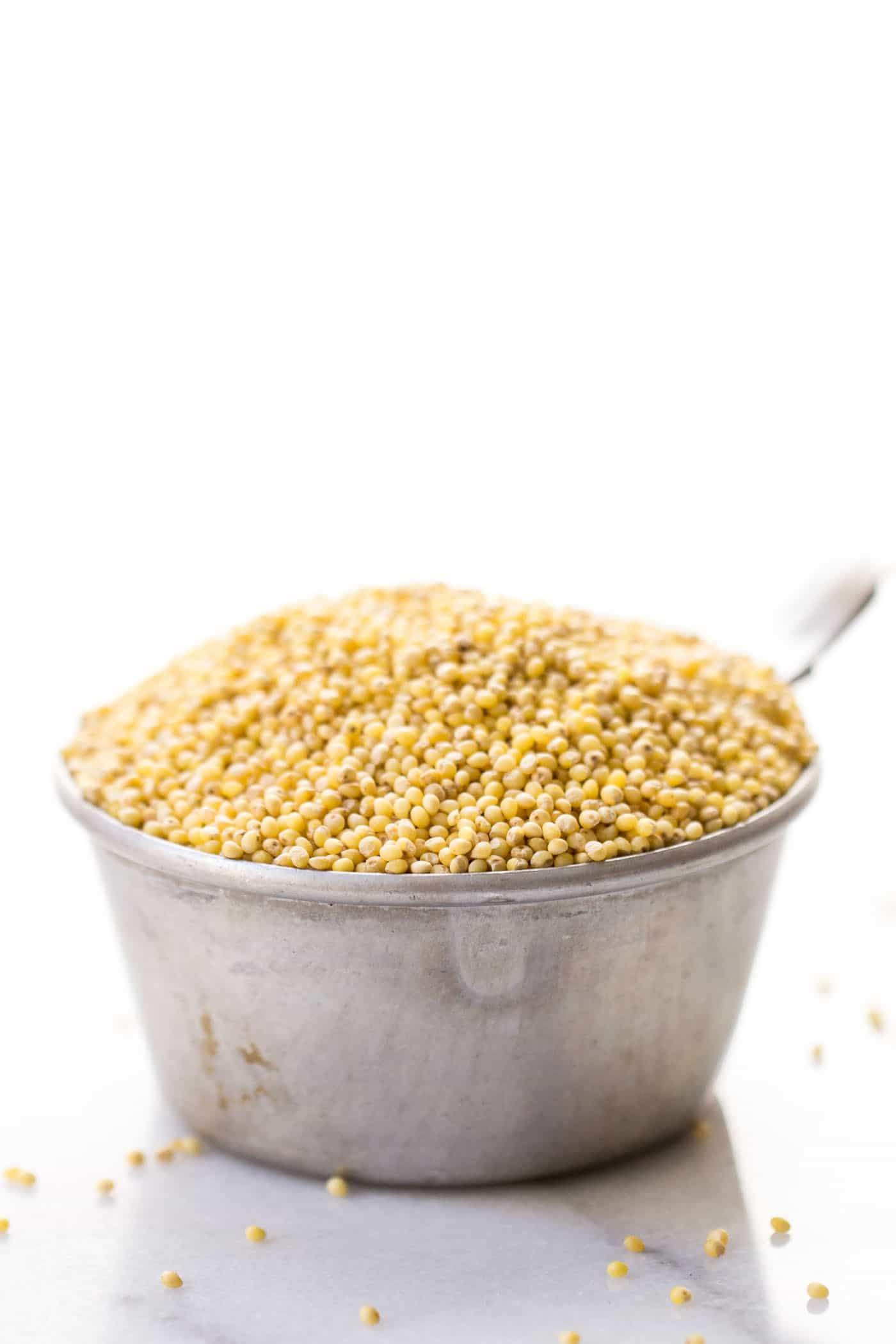 MILLET: one of the six staple whole grains you should have you in your pantry!