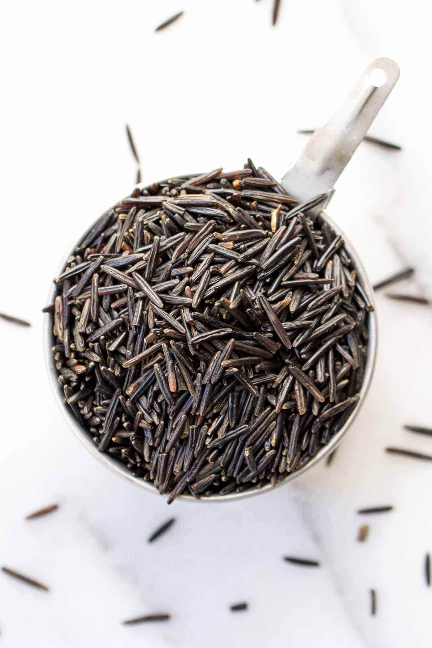WILD RICE: one of the six staple whole grains you should have you in your pantry!