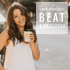 5 Natural Ways to Beat a Hangover