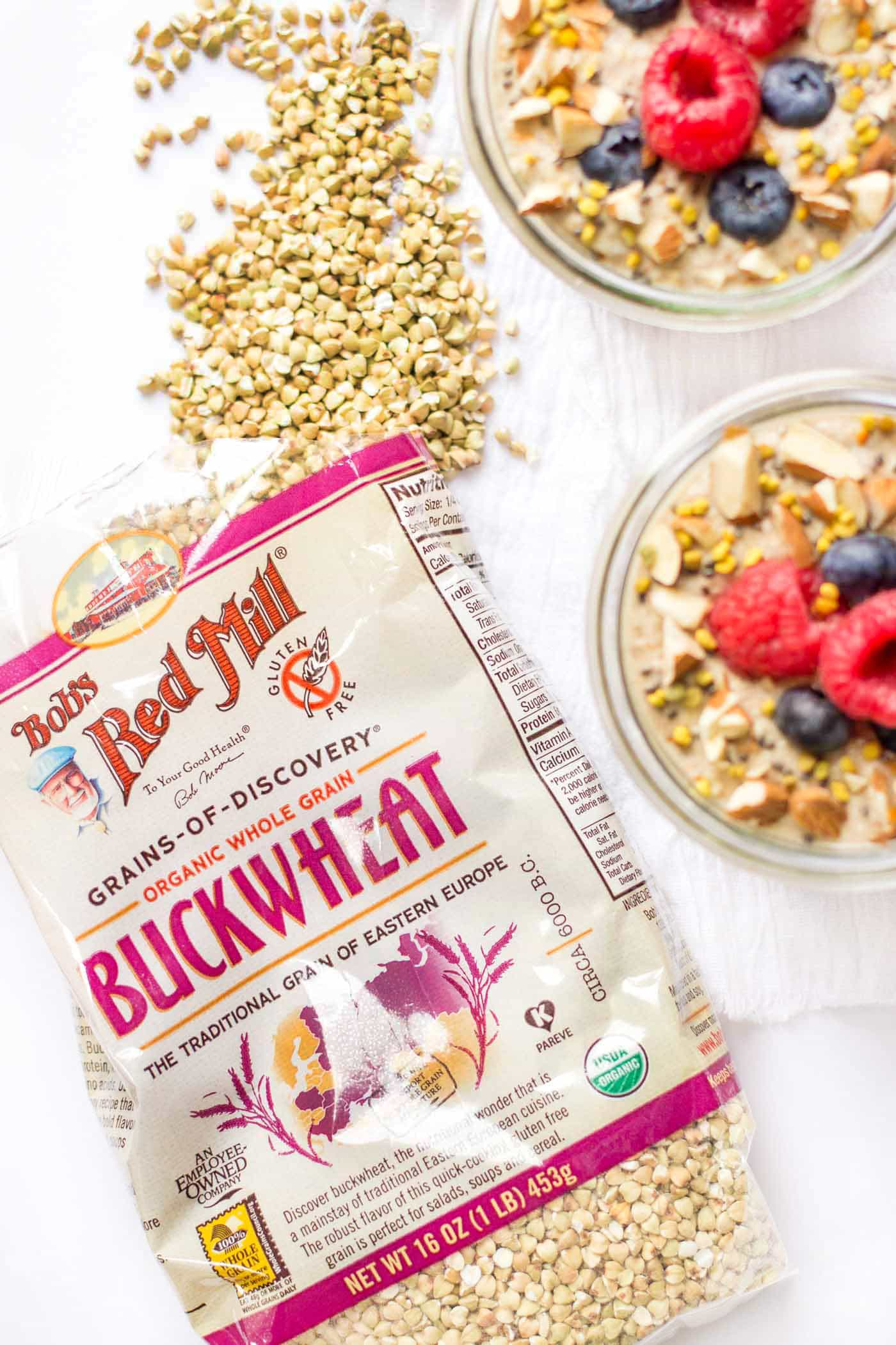 Buckwheat is an AMAZING way to start your day -- whip it up in this raw porridge and you'll be amazed how you feel all day long!