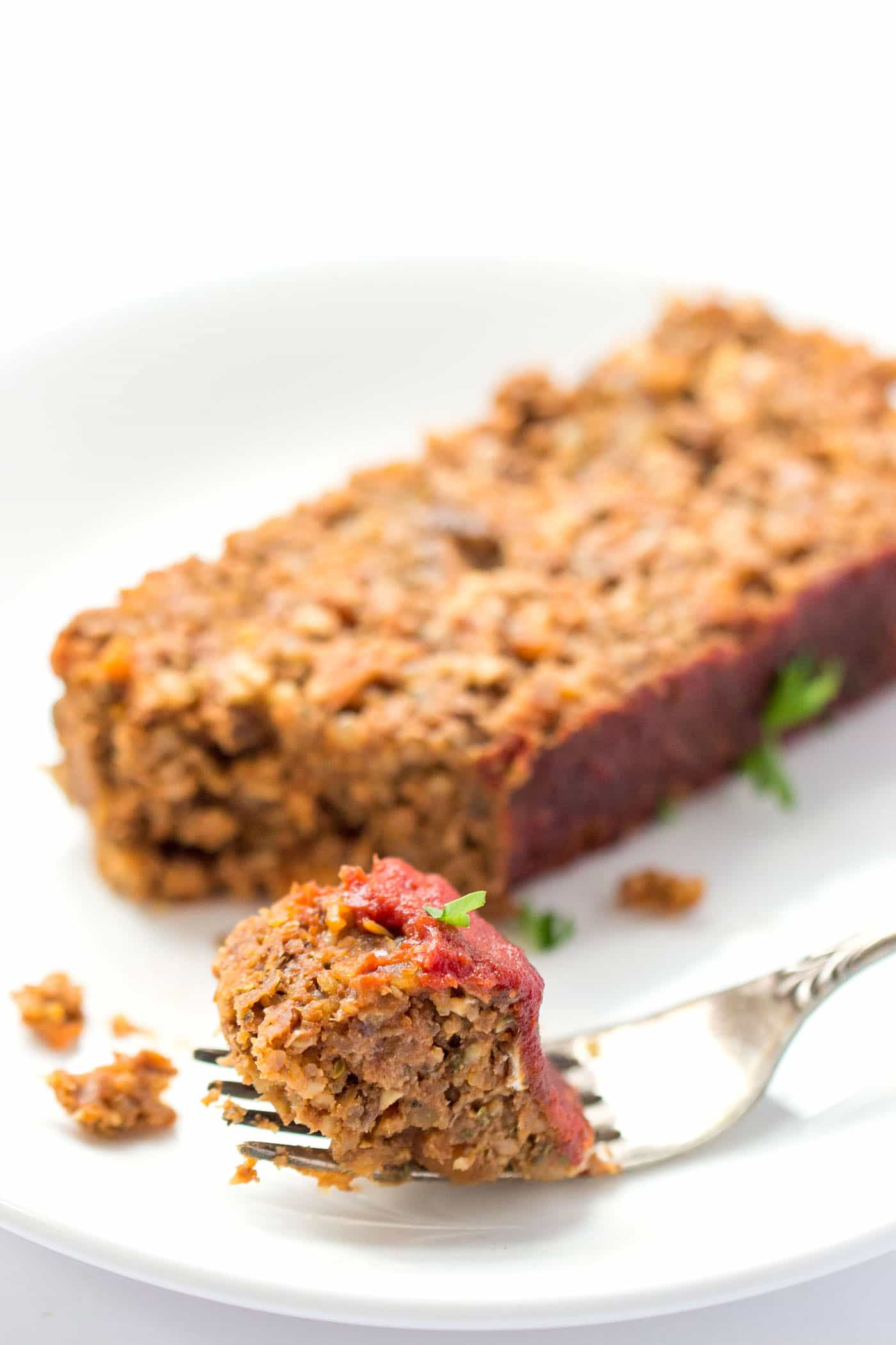 This is definitely THE BEST vegan meatloaf I have ever tasted! I love the addition of lentils and quinoa - it makes it so filling without the need for any meat at all.