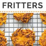 Curried Carrot Sweet + Sweet Potato Fritters...so simple to make and packed with tons of flavor!! {vegan + gluten-free}