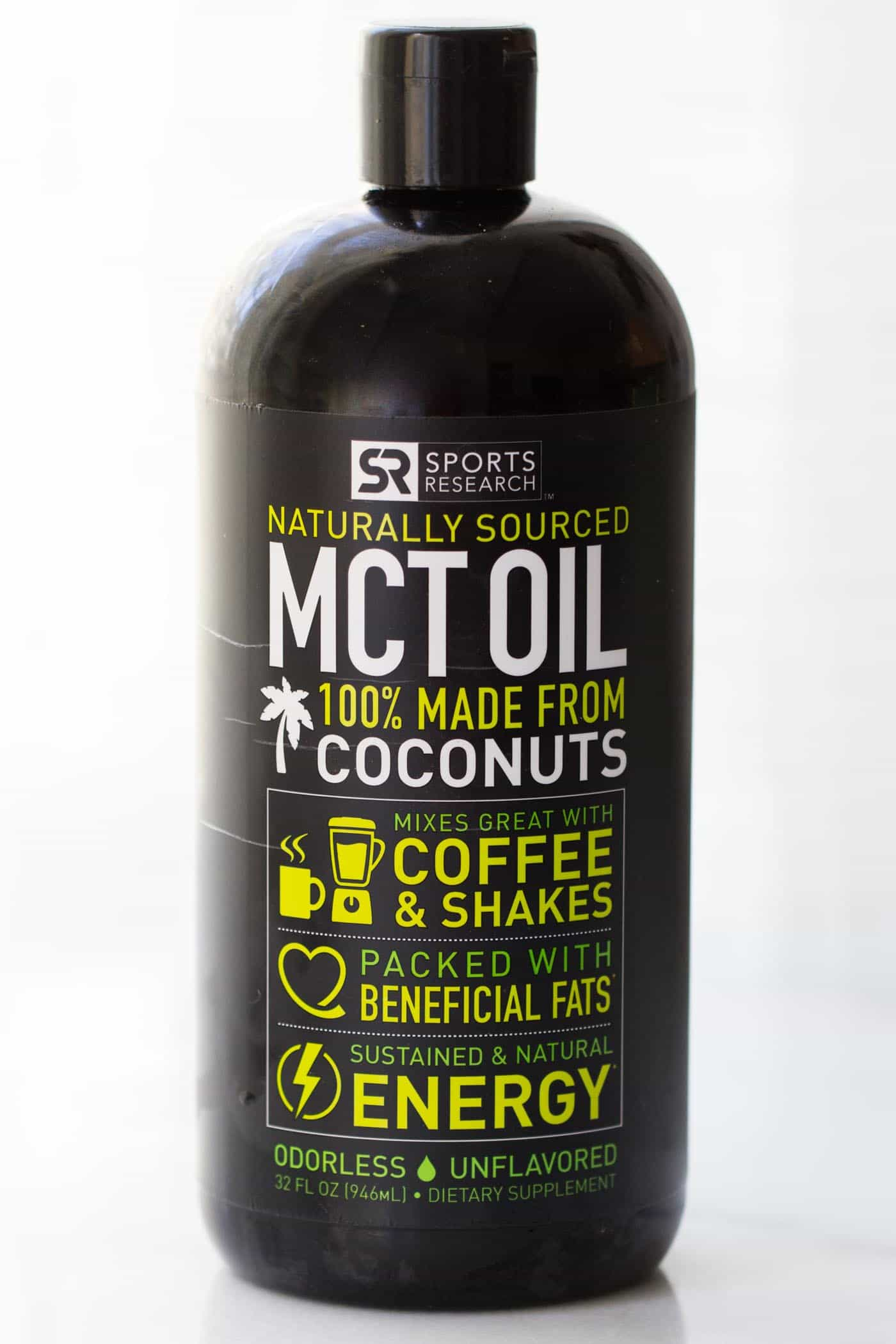 This is THE BEST MCT oil to add to coffee and lattes!