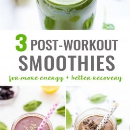 3 Post-Workout Smoothies
