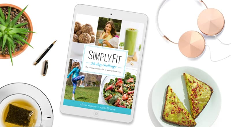 SimplyFit 28-Day Challenge -- the ultimate nutrition + workout program to help you lose weight, increase energy and build toned, lean muscle!