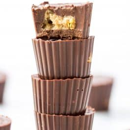 Vegan Almond Butter Cups with Crispy Quinoa