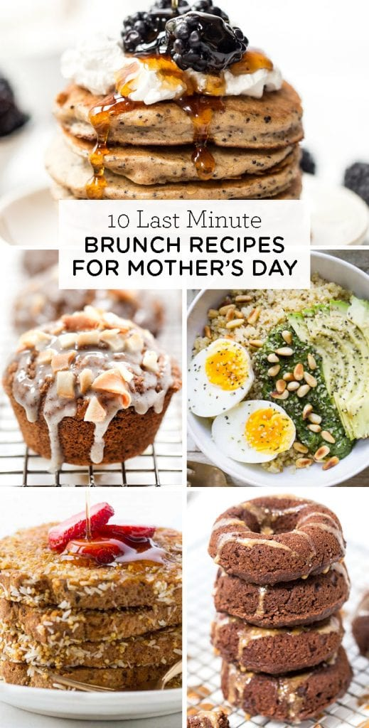 10 easy and healthy Mother's Day Brunch Recipes