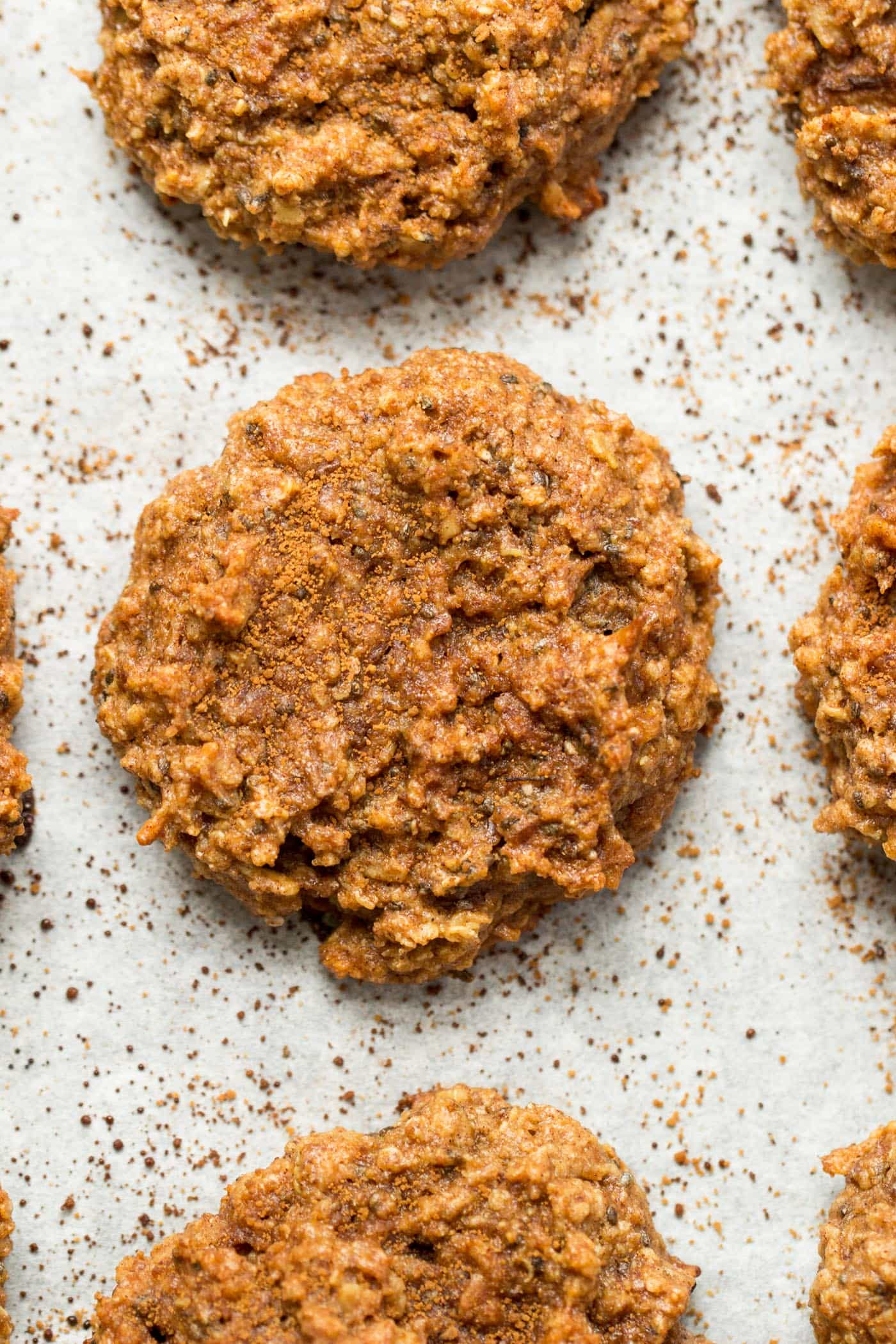These HEALTHY Snickerdoodle Quinoa Breakfast Cookies are packed with cinnamon-sugary flavor, but are nutritious and perfect for breakfast!