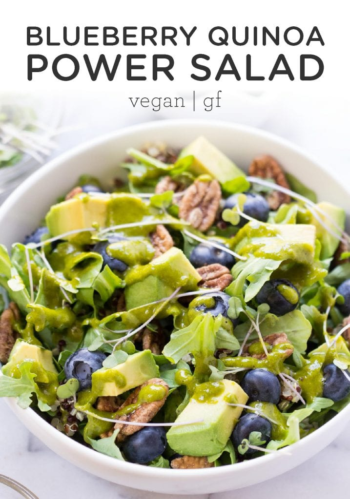Blueberry Quinoa Power Salad