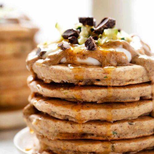 Vegan Zucchini Pancakes