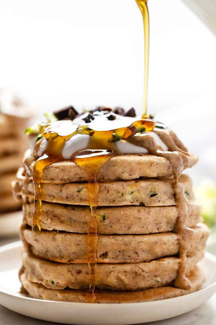 Vegan & Gluten-Free Zucchini Pancakes