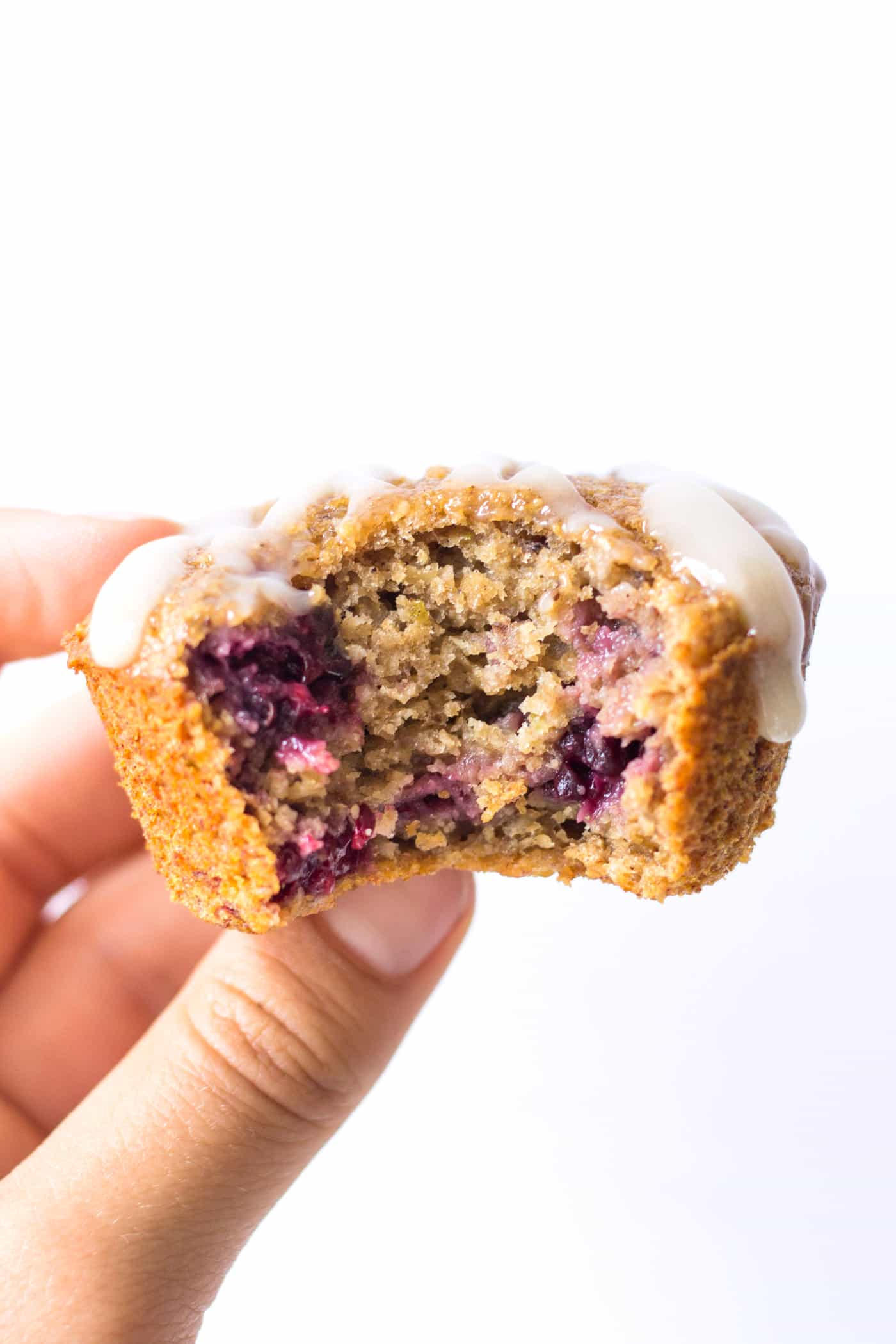 These HEALTHY blackberry lime muffins are made with wholesome ingredients, sweetened naturally and don't have any oil OR butter!