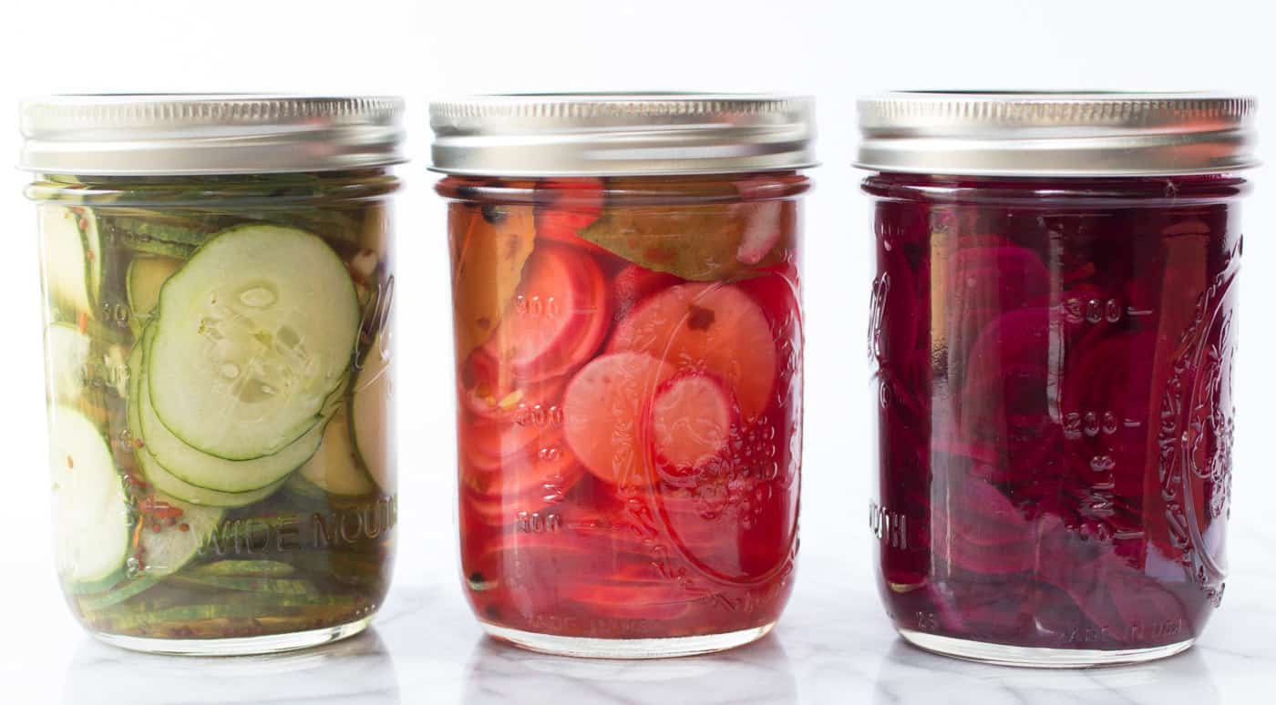 How to make quick pickled vegetables out of your favorite summer produce!