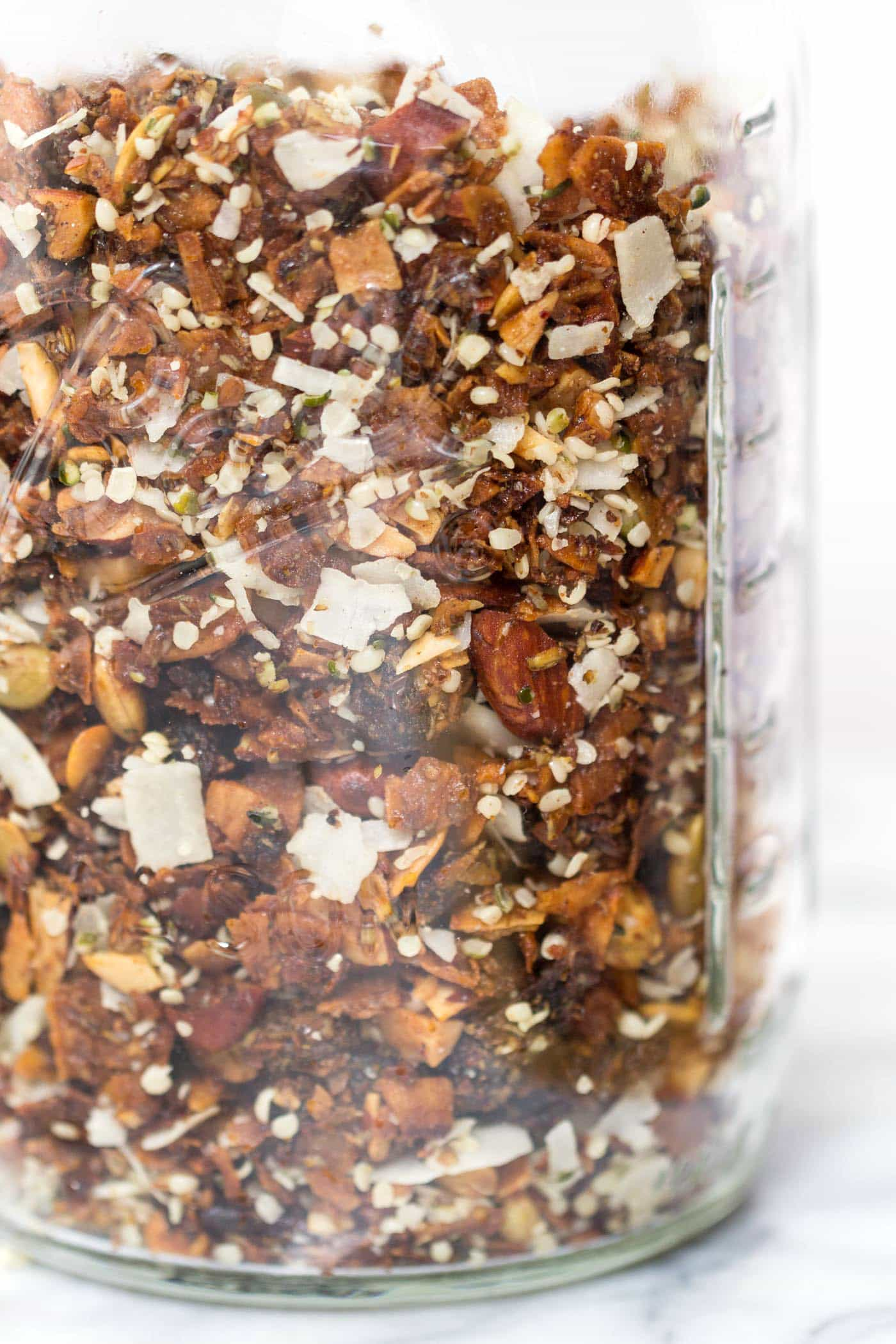 This grain-free coconut granola is the PERFECT recipe for those avoiding oats or living on the paleo diet!