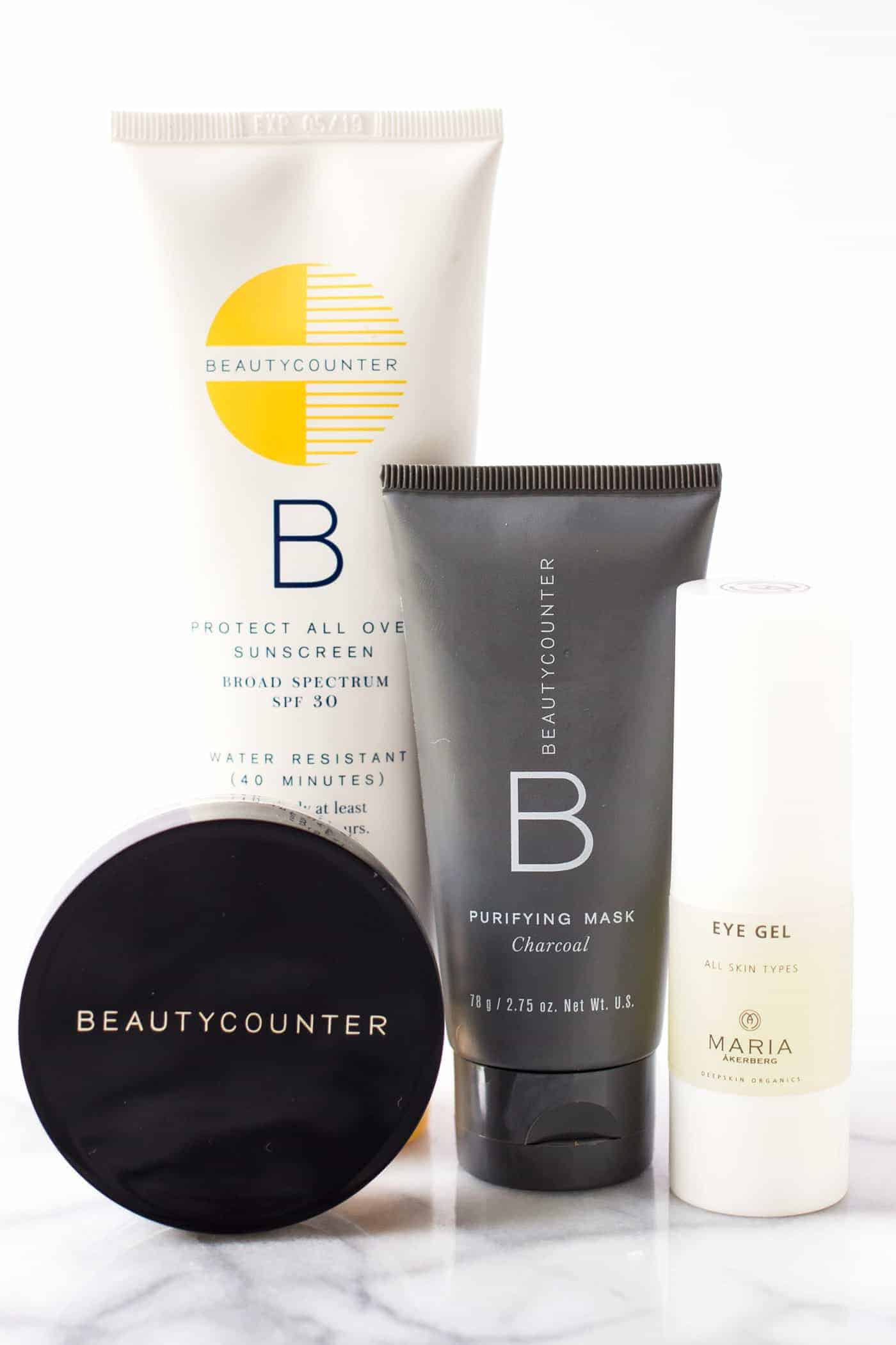 My favorite summer skincare products from Beautycounter and Maria Akerberg!