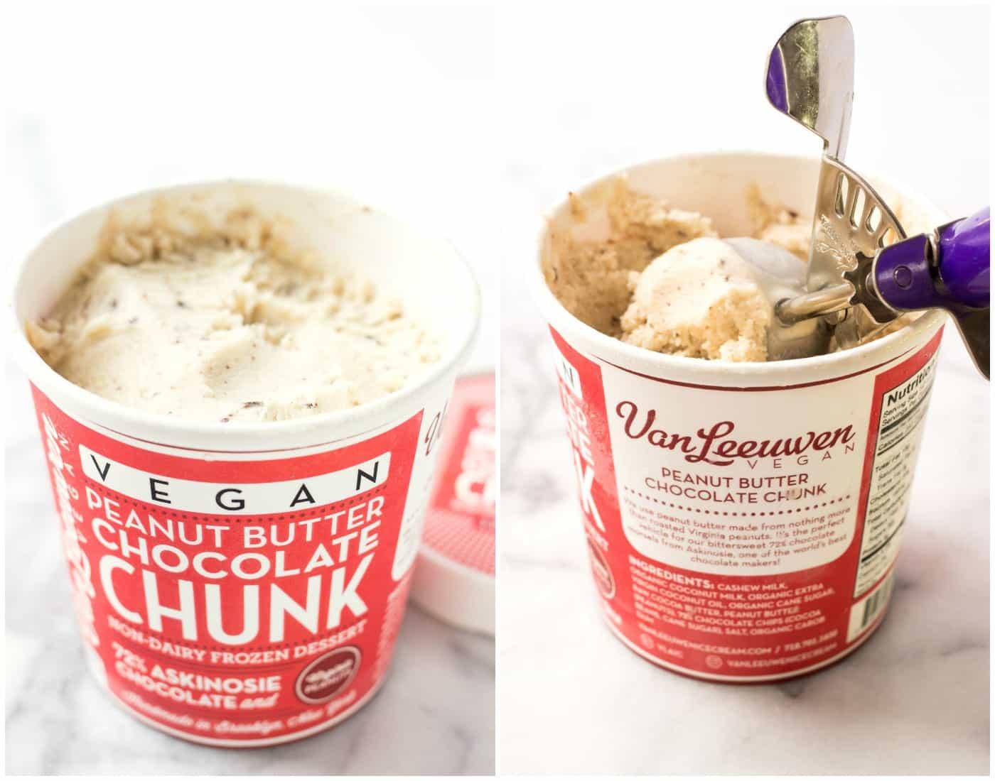 Van Leewen's Vegan Ice Cream -- the BEST ice cream I've ever tasted and you'd NEVER know it was vegan!