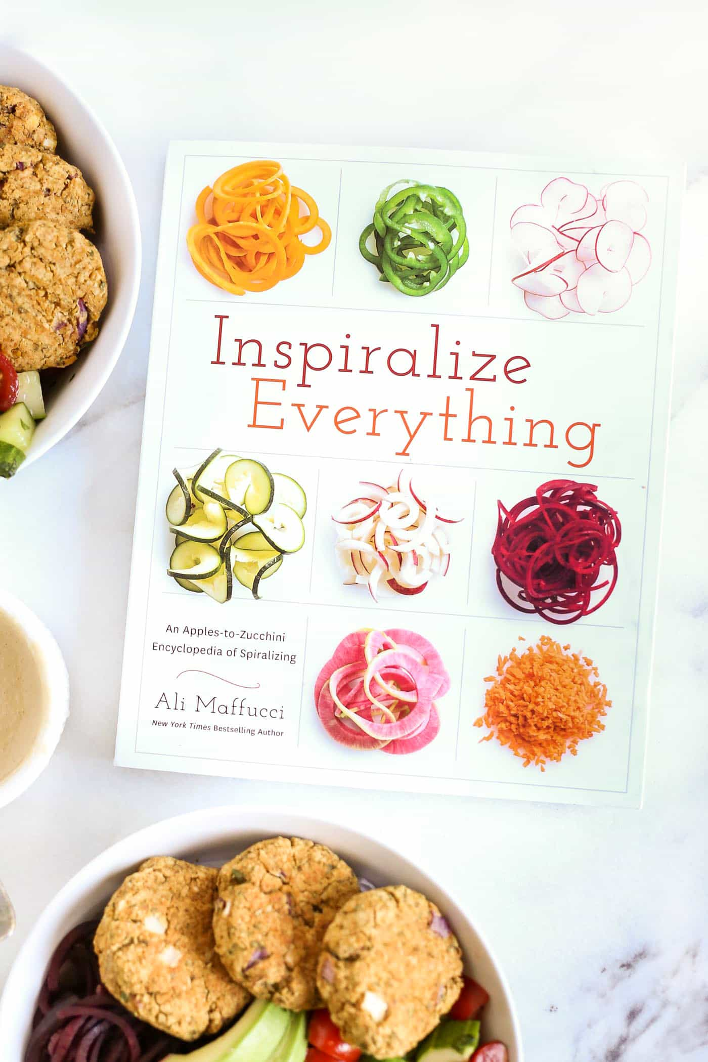 Inspiralize Everything -- the new cookbook from Inspiralized.com, full of amazing spiralized recipes!