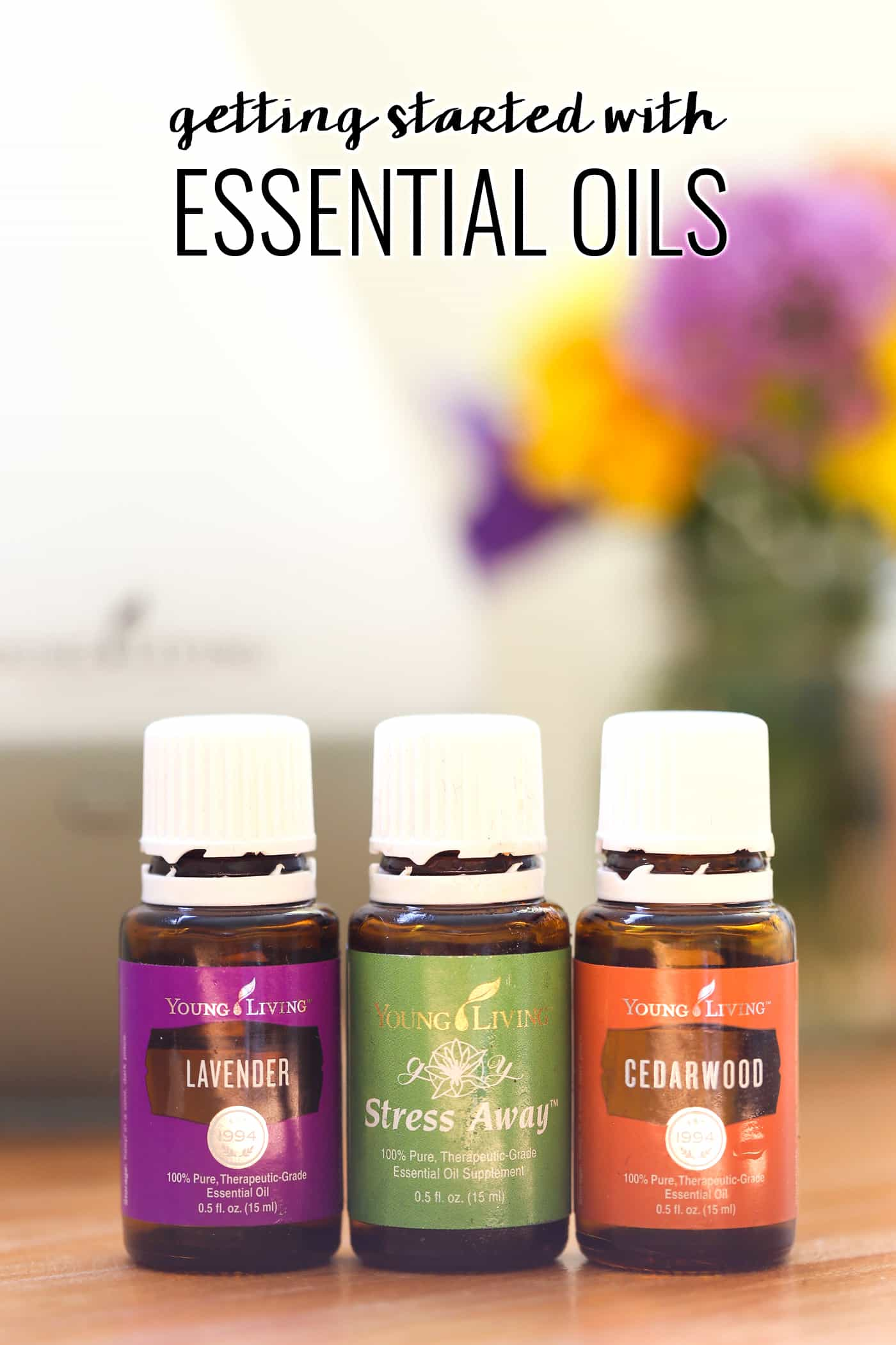 How to get started with essential oils...including the three BEST oils for better sleep!