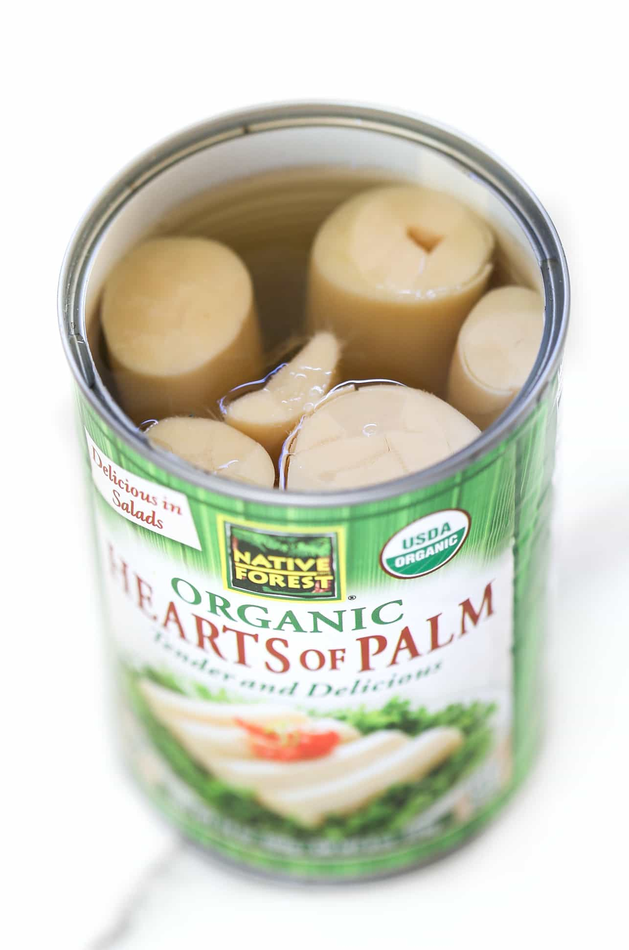 The secret ingredient to making vegan BBQ pulled pork? HEARTs OF PALM!