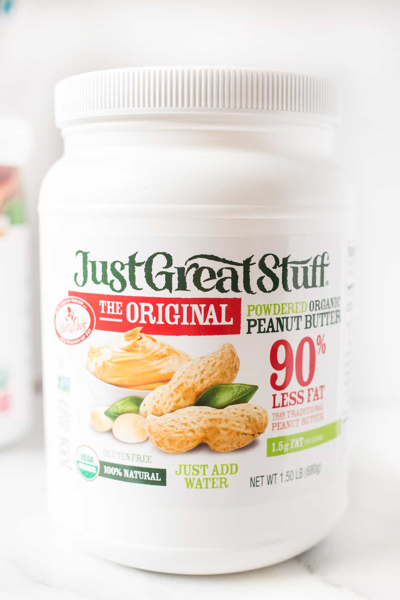 Organic Powdered Peanut Butter -- a healthy, low fat option with all the peanut butter flavor!