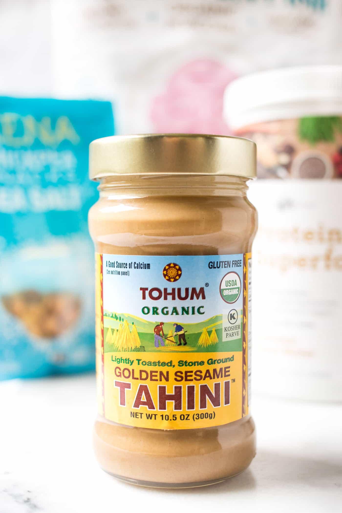 NEW tahini discovery!! Tahini made with golden sesame seeds!