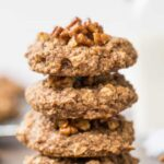 Pecan Pie Quinoa Breakfast Cookies -- a healthy way to enjoy the flavors of pecan pie, but for breakfast!