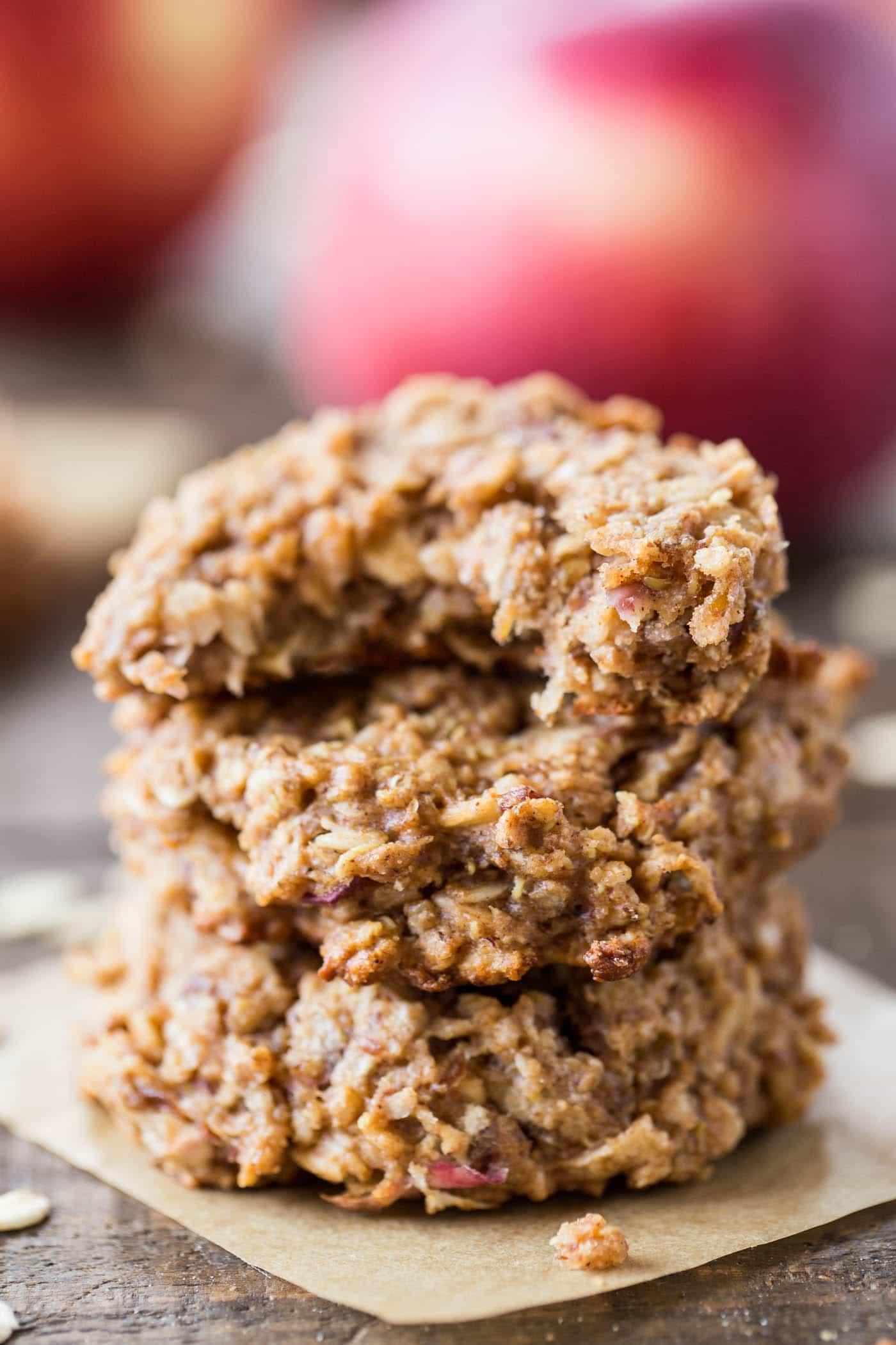 Apple Pie Quinoa Breakfast Cookies - Simply Quinoa