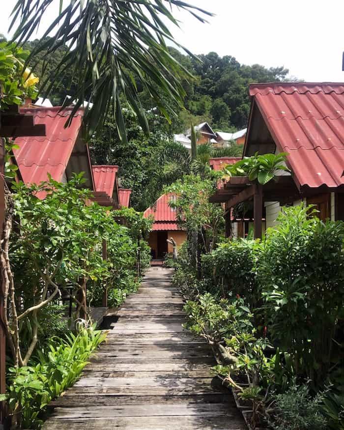 Koh Phi Phi in Thailand | healthy vegan travels