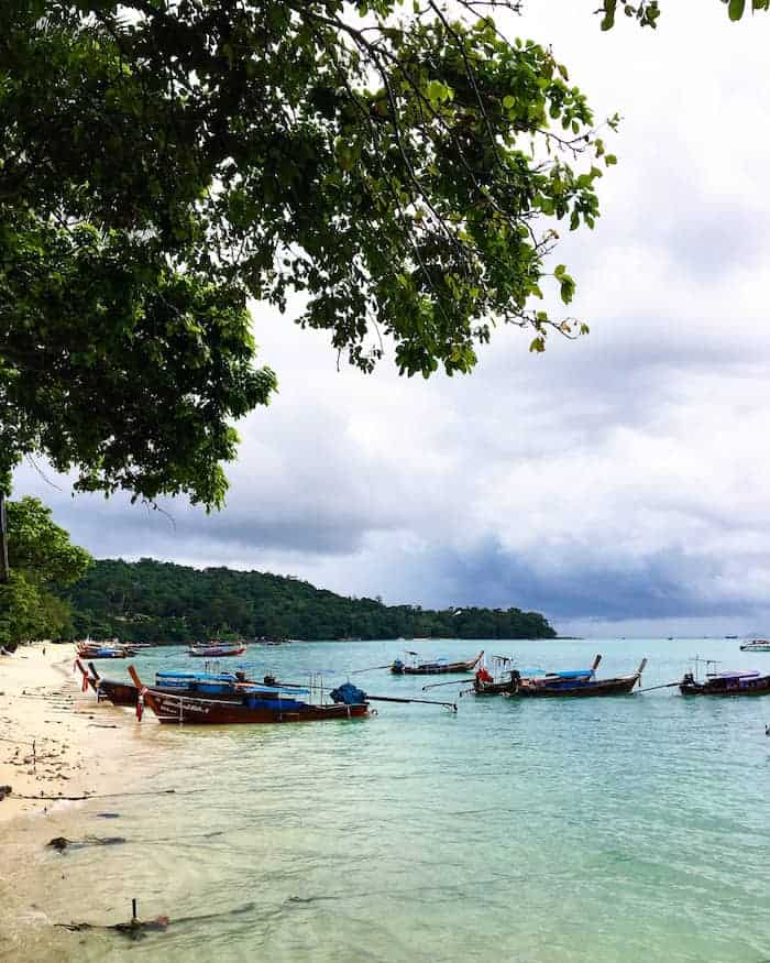 Koh Phi Phi in Thailand | healthy vegan travels