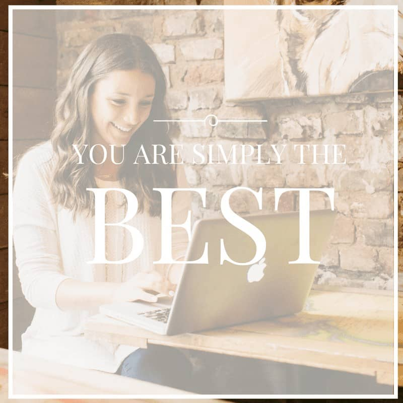 You are the BEST! 2016 Annual Reader Survey!