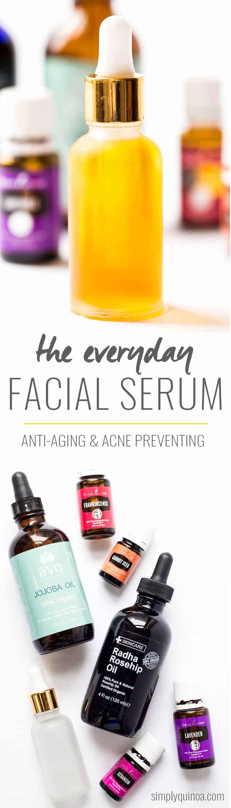 Everyday DIY Facial Serum - Simply Quinoa