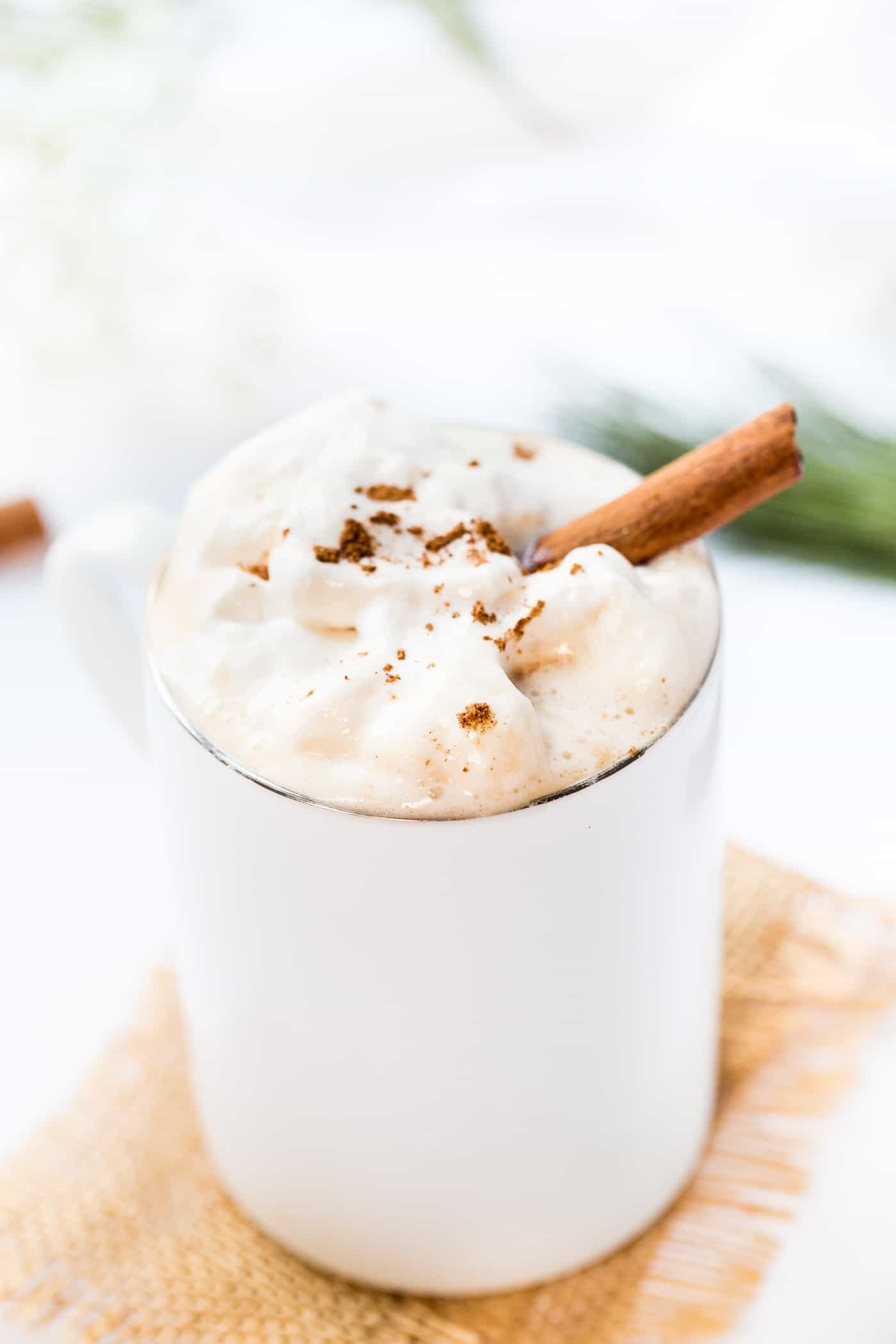 This SIMPLE Vegan Chai Latte is made with five spice powder for a flavorful twist! Topped with whipped cream and cinnamon, it's a perfect treat!