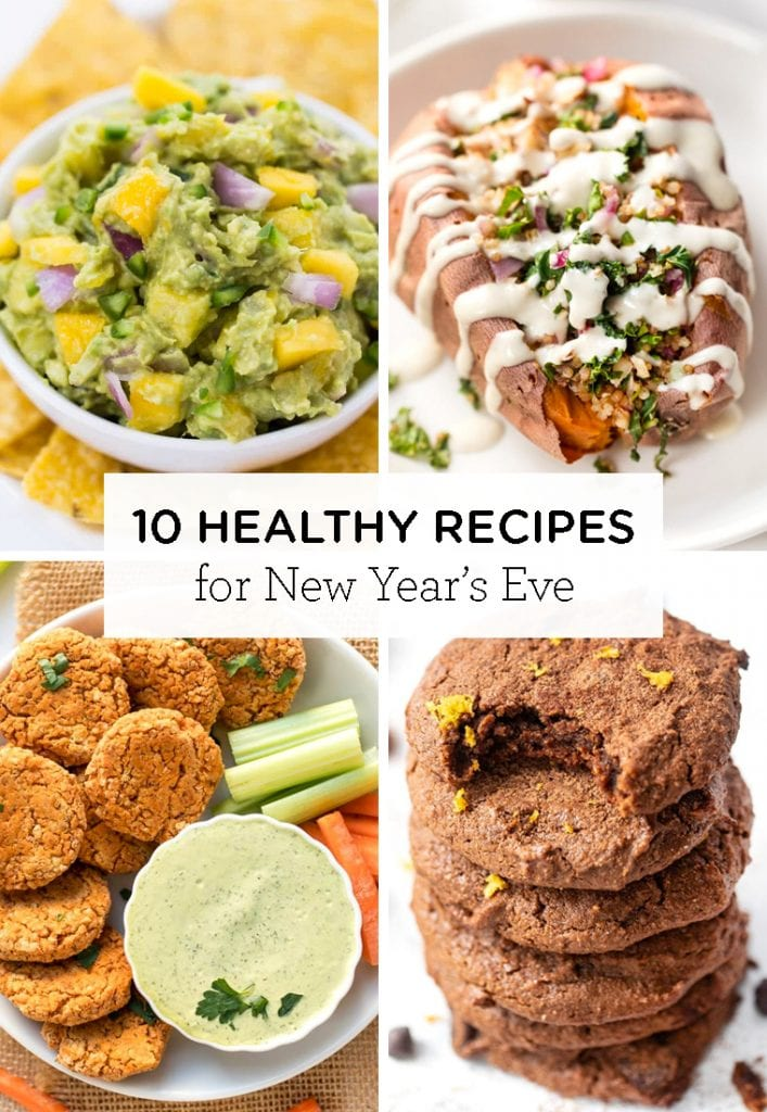 10 super healthy New Year's Eve recipes