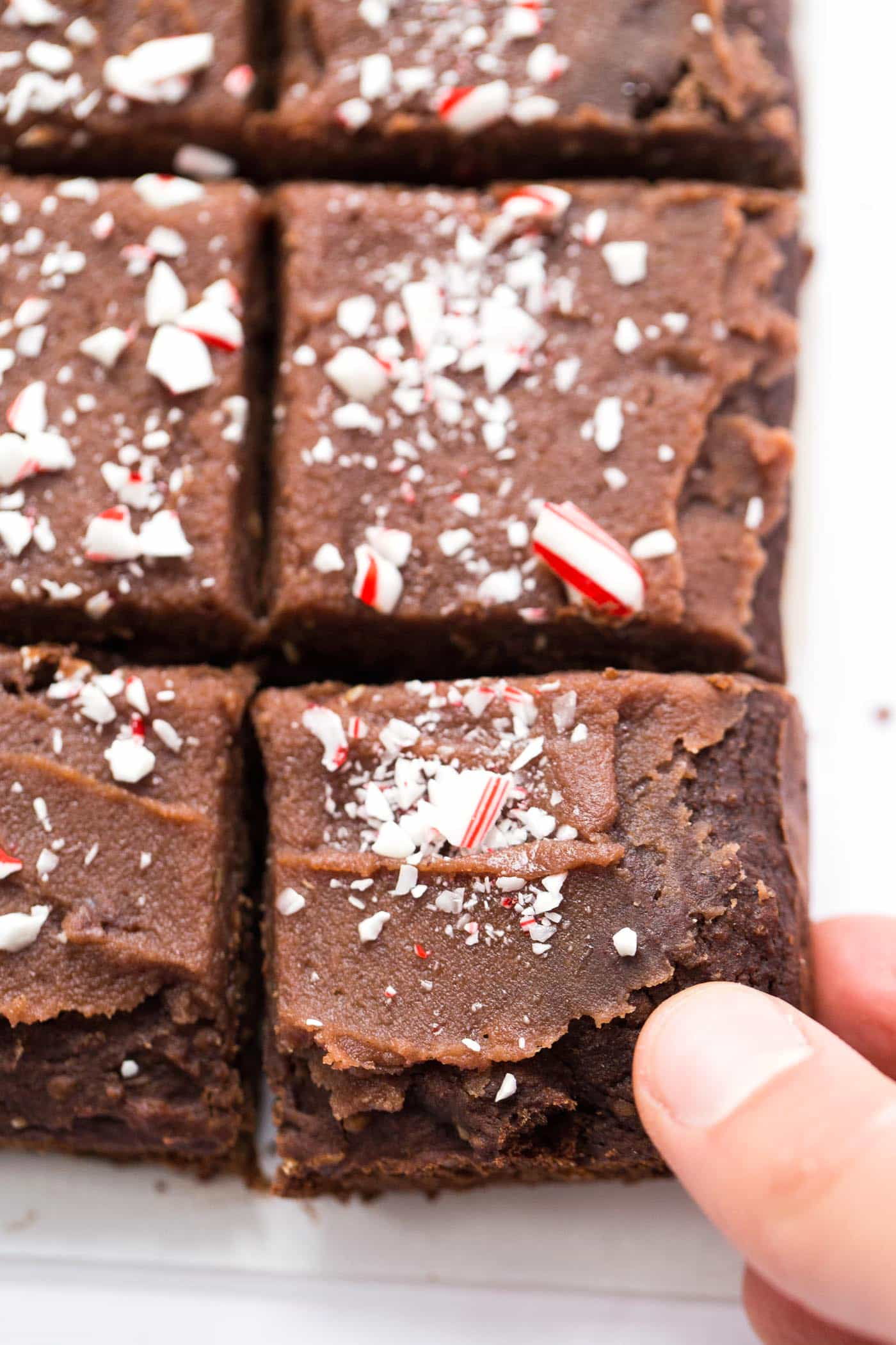 These chocolate frosted CHICKPEA BROWNIES are made with only pure ingredients, naturally gluten-free and high in plant-based protein!