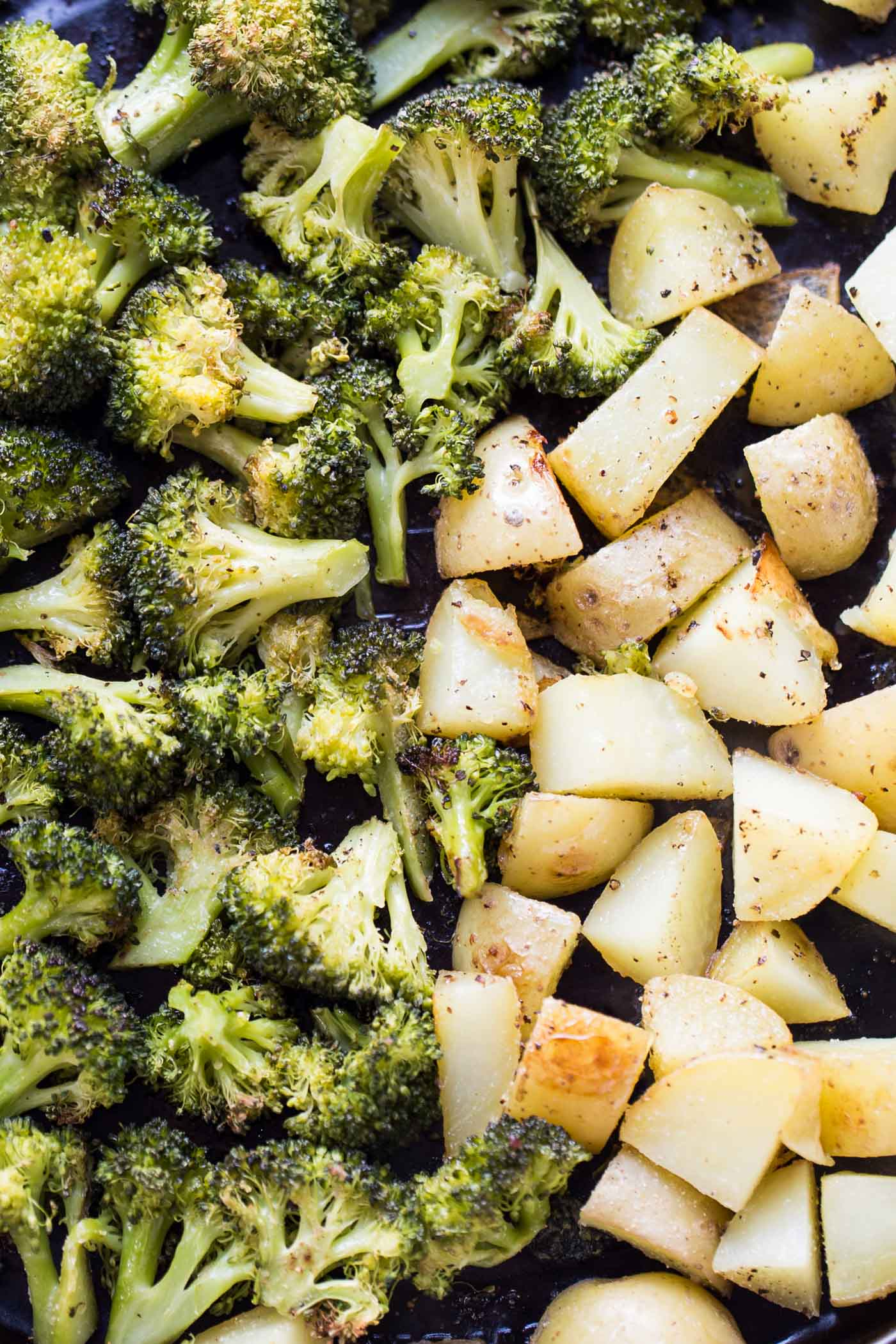 How to make THE BEST DAMN Broccoli Chowder ever! Roasted veggies with nutritional yeast and hummus!
