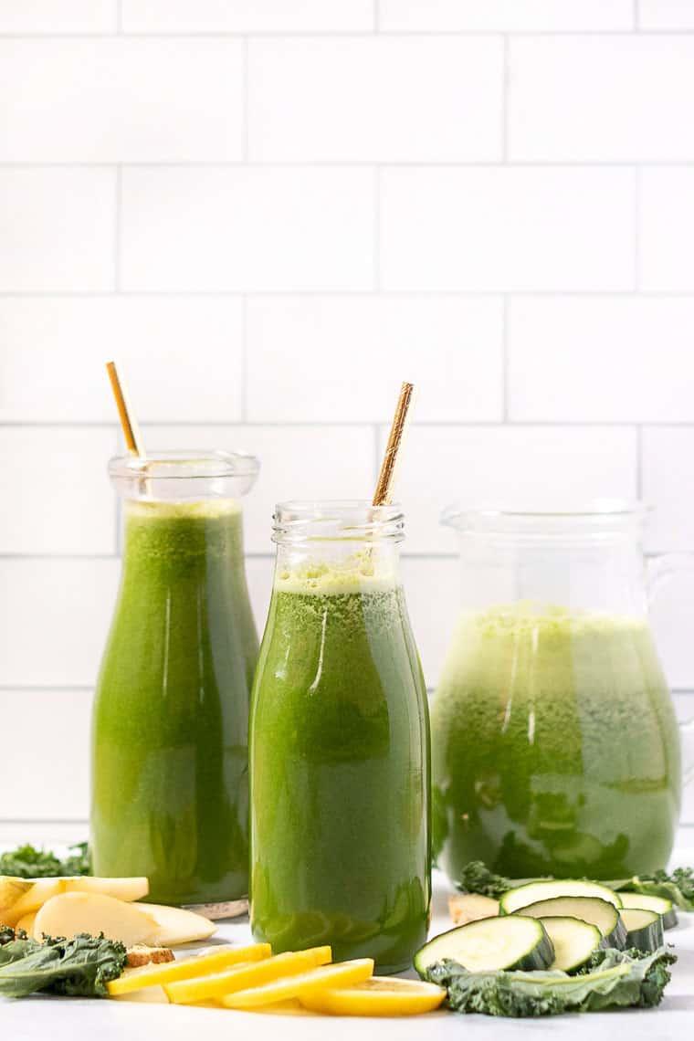 super green juice recipe with lemon