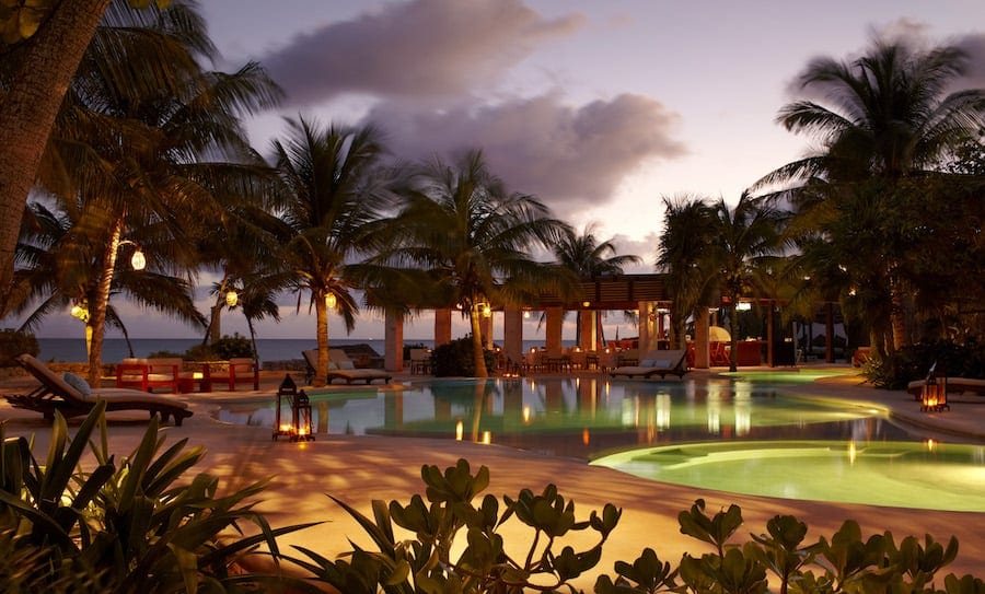 The Viceroy Riviera Maya Mexico - perfect for a romantic weekend getaway!