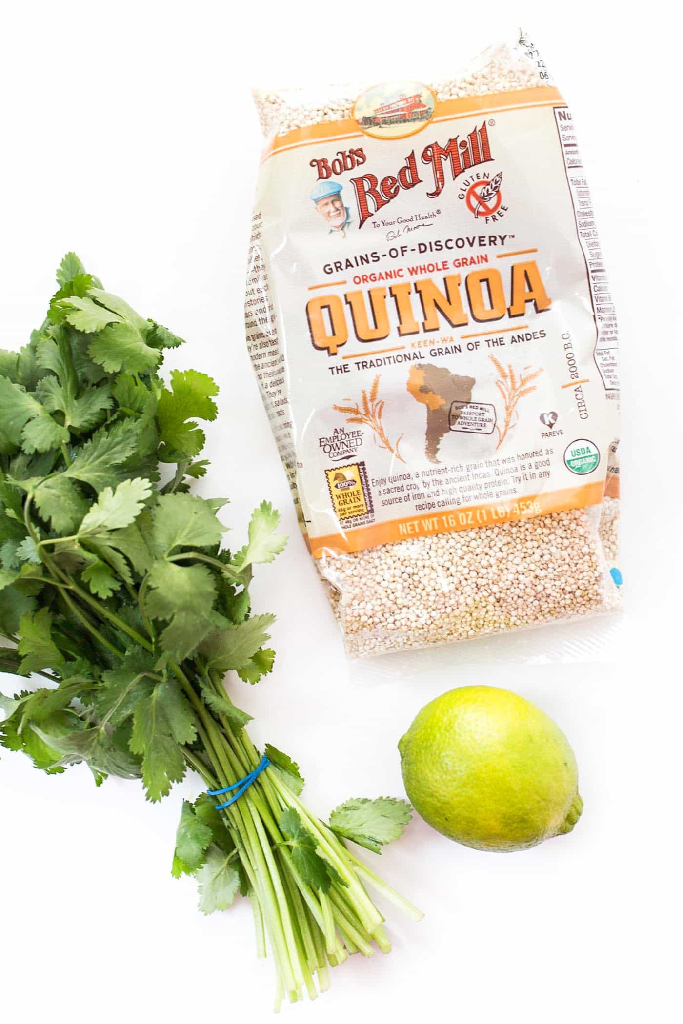 How to make the most AMAZING cilantro-lime quinoa!