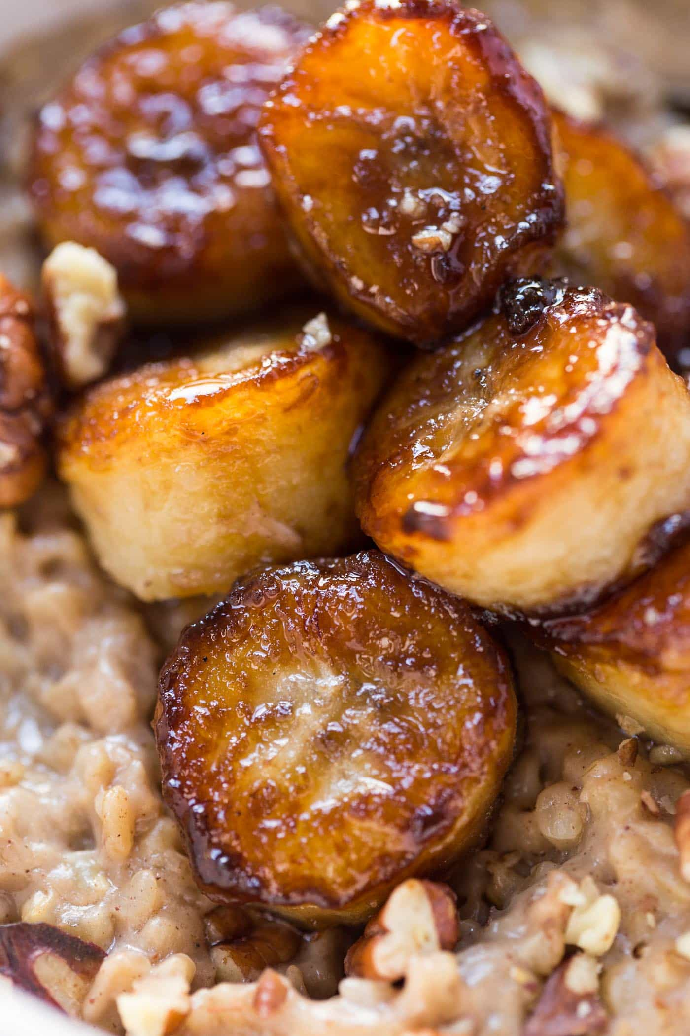 How to make caramelized bananas with just 3 INGREDIENTS [vegan + gluten-free]