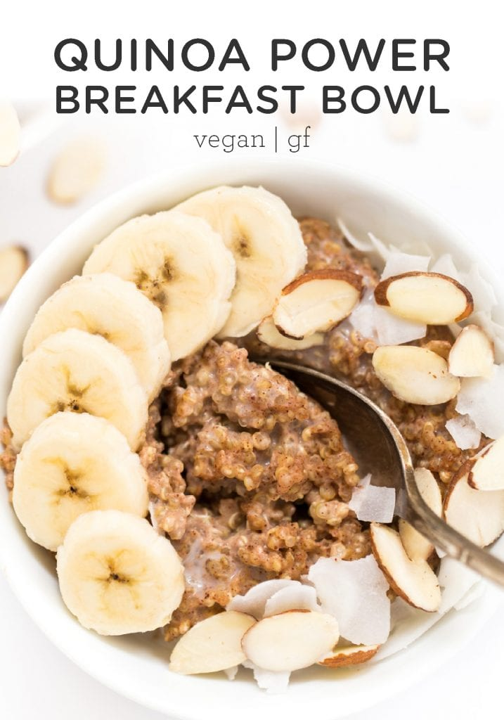 Quinoa Power Breakfast Bowls!