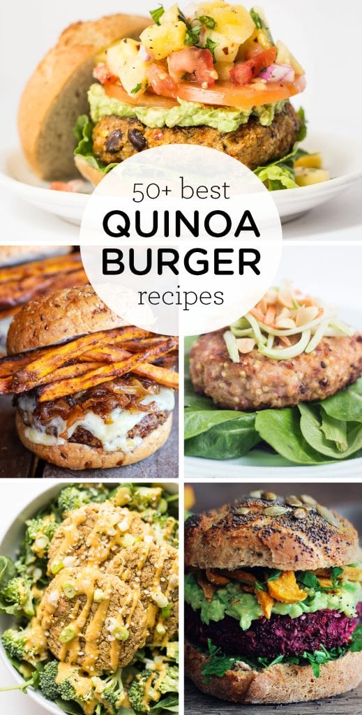 50+ Best Quinoa Burger Recipes