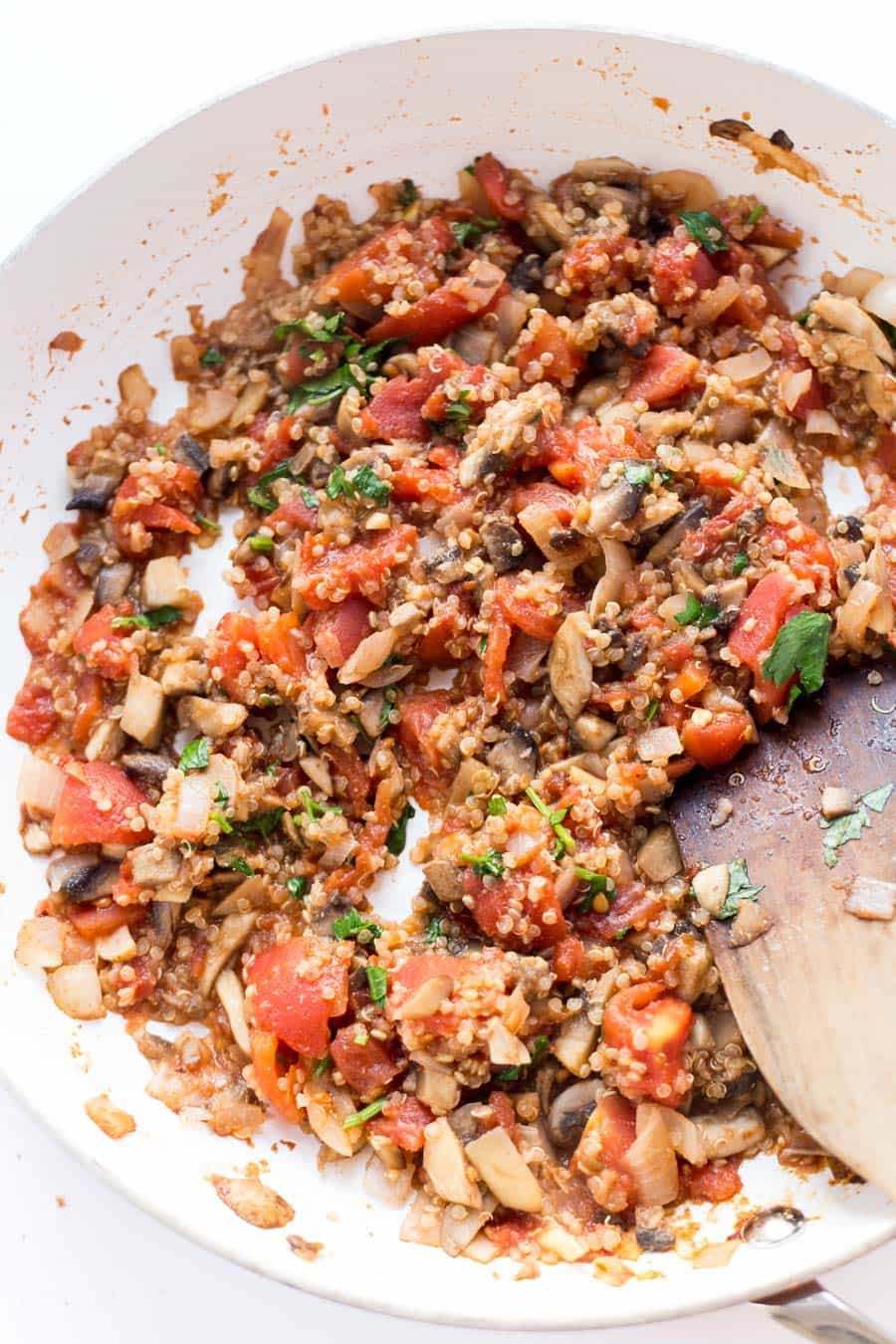 How to make THE BEST Quinoa Stuffed Eggplant  -- in just 30 MINUTES!