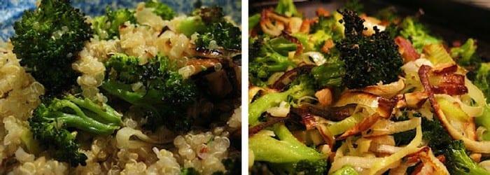 ... Leek & Broccoli Quinoa Salad with Chopped Almonds - Simply Quinoa