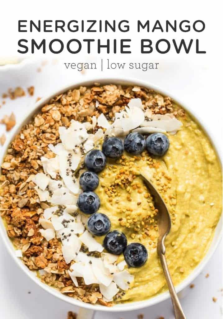 Vegan Mango Smoothie Bowl