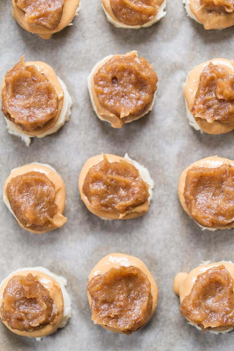 These NO BAKE Banana Snickers Bites are a healthy sweet treat that tastes like candy