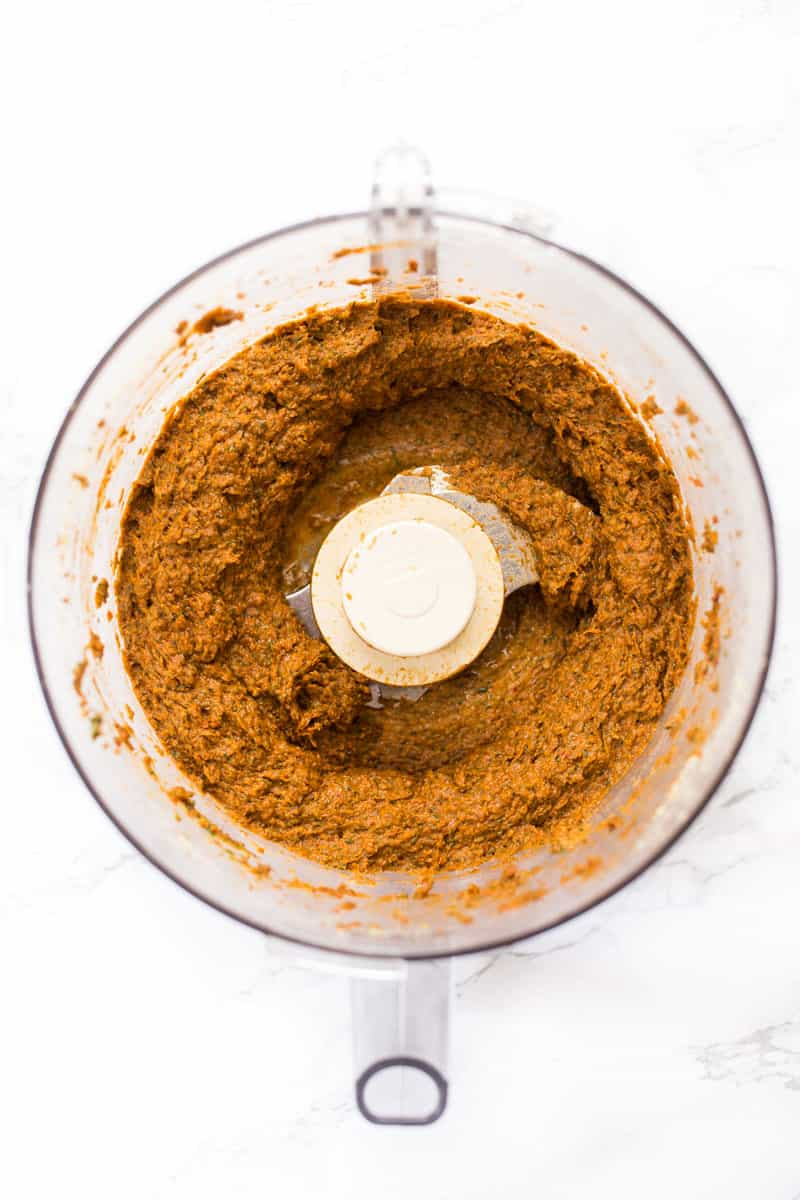 How to make VEGAN Sun Dried Tomato Pesto!