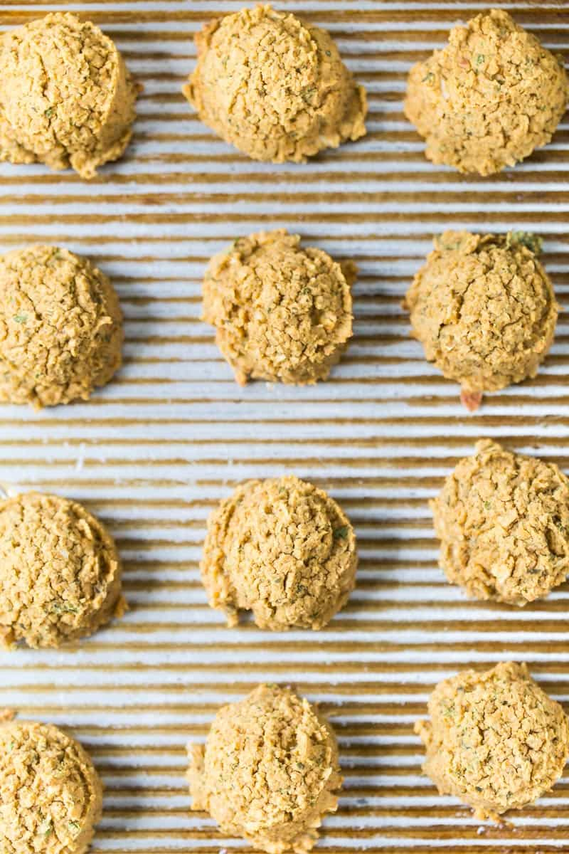 How to make THE BEST Grain-Free Falafel Bites with just a few simple ingredients!